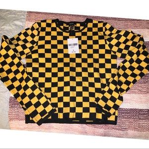 Forever 21 Sweaters - Checkered Sweater